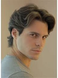 Mens Middle Part Wave Hair In 2019 Middle Hair Wavy Hair