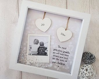 Scrabble Gift for Mum Mummy Dad Daddy Wife Birthday PERSONALISED FAMILY PRINT