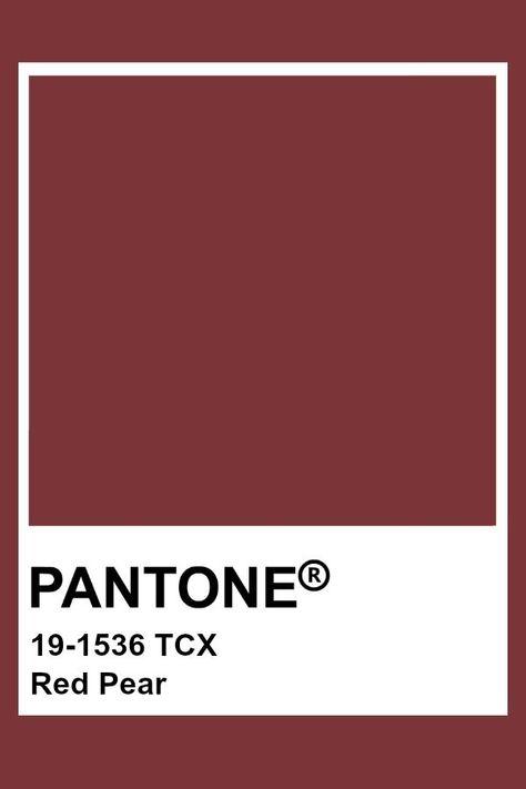 Pantone rote Birne  #birne #pantone