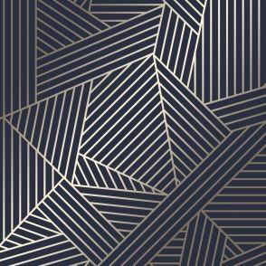 Wingate Geometric Wallpaper Navy Gold In 2020 Geometric Wallpaper Navy Geometric Wallpaper Gold Geometric Wallpaper