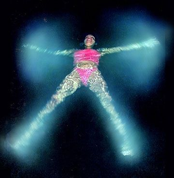 Bioluminescent Bay in Vieques, Puerto Rico...Feels like you are swimminging in Pixie Dust!