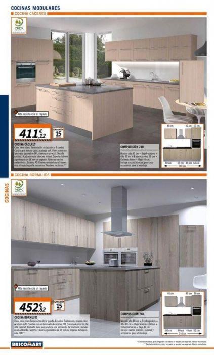 Cocinas Bricomart: catálogo valido hasta 25 junio 2018 | HOGAR ...