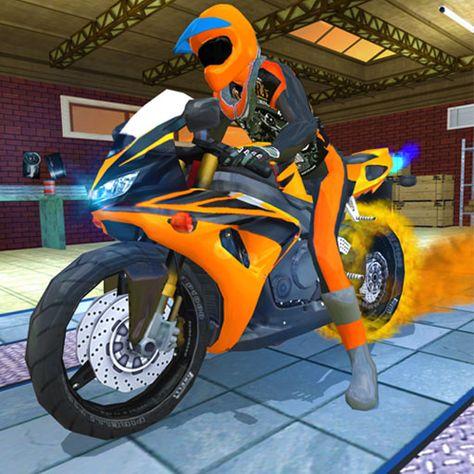 Moto Real Bike Racing Racing Bikes Fighting Robots Racing