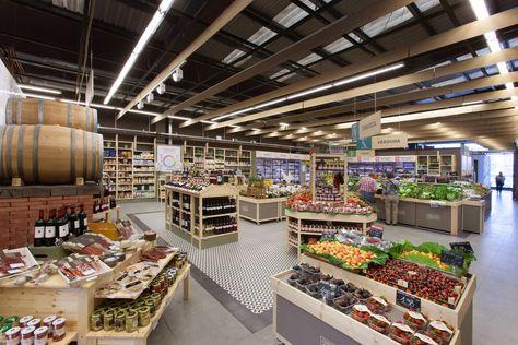 Casa Ametller Diseno De Supermercado Casas Granja Moderna