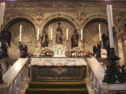 Túmulo E Altar De Sto António Em Pádua Padua Saint Anthony Traditional Catholic