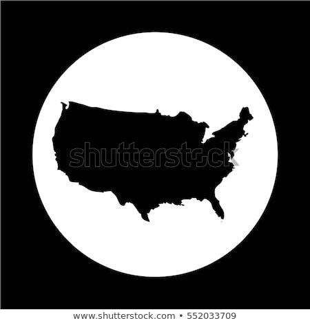 Usa Map Icon Vectorsicon Com Pinterest Map Icons Map And