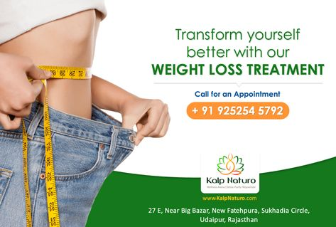 Kalp Naturo Provides The Best Non Invasive Weightloss Treatments