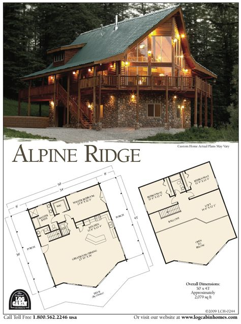 Log Home Plans from Top Log Home Companies. Just like the ones at Mable lake Casas Country, Log Home Plans, Log Cabin Floor Plans, Barn Plans, Log Cabin Homes, Log Cabins, Mountain Cabins, Cabins And Cottages, House Goals