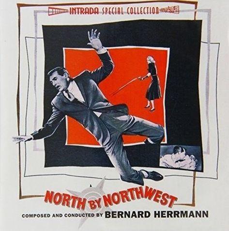 Bernard Herrmann North By Northwest Original Soundtrack New Vinyl Lp 180 G Ebay North By Northwest Movie Posters Vintage Vintage Movies