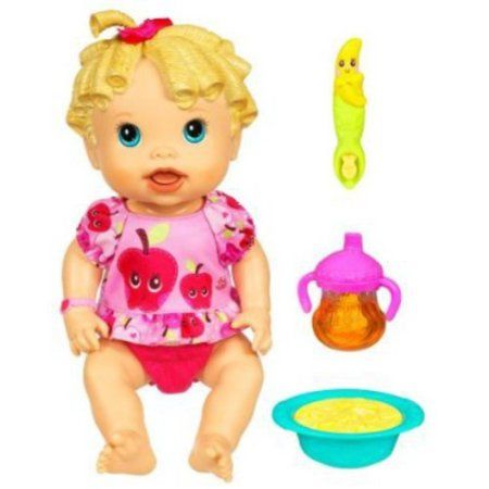 Buy Baby Alive Baby All Gone Doll Caucasian At Walmart Com Childhood Toys Baby Alive Baby Alive Dolls
