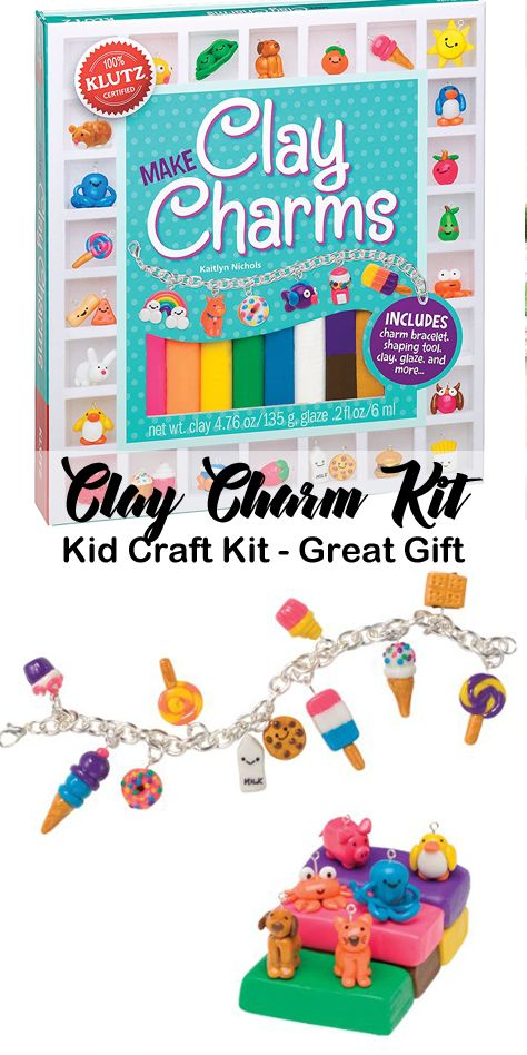 Make Your Own Cute Charms Bracelet Included Kid Craft Kits