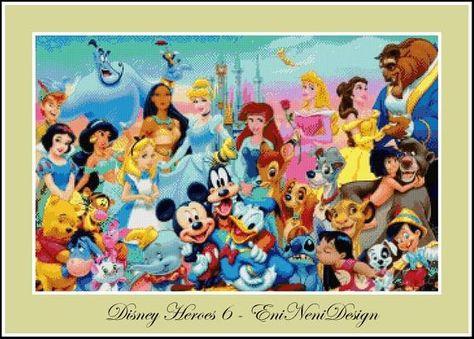 Disney Heroes 6 - cross stitch pattern - PDF pattern - instant download