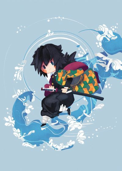 Giyu Tomioka By Venth28 On Deviantart Anime Chibi Cute Anime Wallpaper Giyuu Fanart Deviantart iphone wallpaper anime