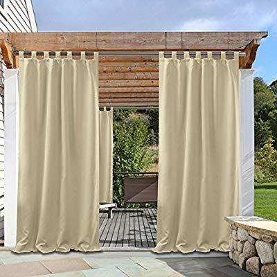 Amazon Com Pony Dance Indoor Outdoor Curtains Solid Color Tab
