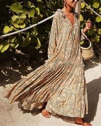 Hot Sale 2020 Trendy Vacation Printed Maxi Dress - - Hot Sale 2020 Trendy Vacation Printed Maxi Dress Source by ariedelbauch