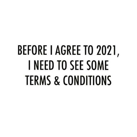 Does someone have a copy of the terms and conditions for 2021?
