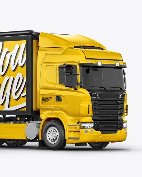 Download Truck Mockup Right Half Side View In Vehicle Mockups On Yellow Images Object Mockups Mockup Psd Free Mockup Mockup Free Psd PSD Mockup Templates