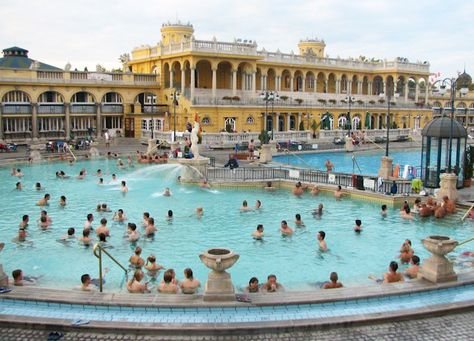 Szechenyi Baths | Budapest