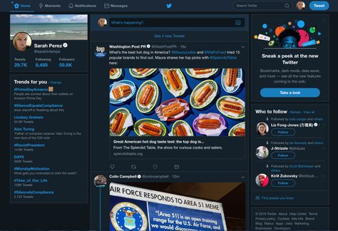 Twitter.com launches its big redesign with simpler navigation and more features – TechCrunch
