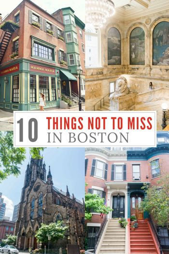 10 Things You Can Not Miss In Boston Boston Vacation Boston
