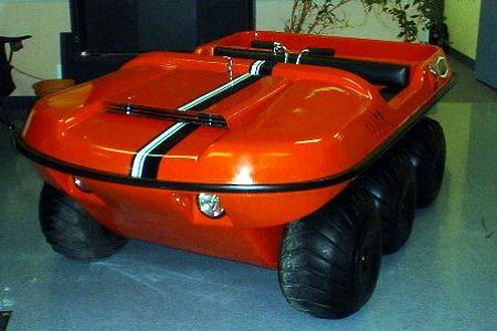 In 1967 Odg Introduced Its 6 Wheel Amphibious Vehicle And Thus