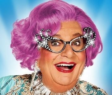 ** DAME EDNA PARTY MASK FANCY DRESS NEW ** LADIES MENS CHILDRENS