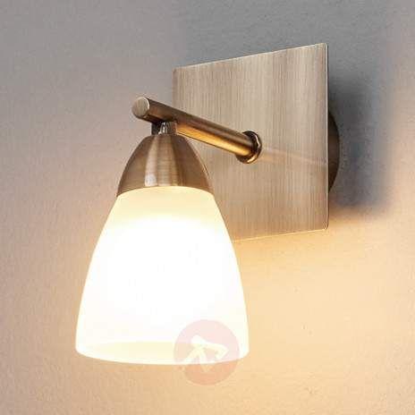 Applique Pour Salle De Bains Nikla A Une Lampe Avec Images Eclairage Salle De Bain Lumiere Salle De Bain Applique Salle De Bain