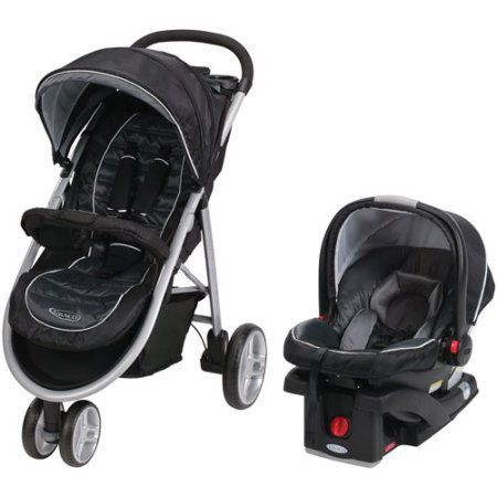 Graco Aire3 Click Connect 3-Wheel Stroller Travel System ...