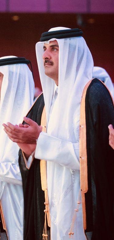 His Highness The Emir Sheikh Tamim Bin Hamad Al Thani سمو الشيخ تميم بن حمد بن خليفة آل ثاني أمير دولة قطر Art Nun Dress Fashion