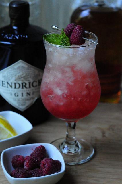 Gin and Raspberry Shrub Julep