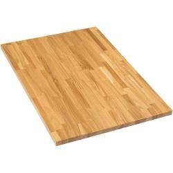 Exclusivholz Aspen Tischplatte (Eiche, 100 x 70 x 3,2 cm)Bauhaus.info