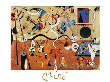 Joan Miró - Il carnevale di Arlecchino, 1924-25