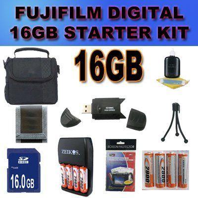 Camera Accessory Saver 16gb Fujifilm Finepix S1500 S1800 S2000hd S2100hd S2500hd S2550hd S2700hd S2800hd S29 Best Digital Camera Fujifilm Finepix Camera Nikon