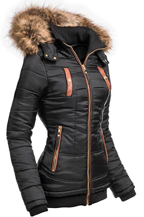 Navahoo Damen Mantel Trenchcoat Wintermantel Übergang Jacke Parka Lang NEU Wooly
