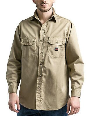 Ebay Sponsored Titicaca Fr Shirt Flame Resistant Workwear Men S Cotton 7 5oz Long Sleeve Shirt Father Shirts Cotton Long Sleeve Shirt Mens Work Shirts
