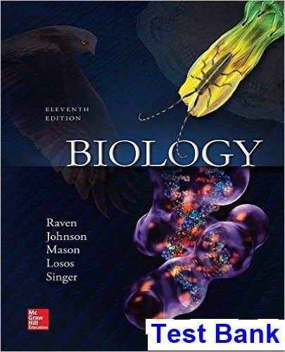 Biology 11th Edition Raven Test Bank | Testbank Download