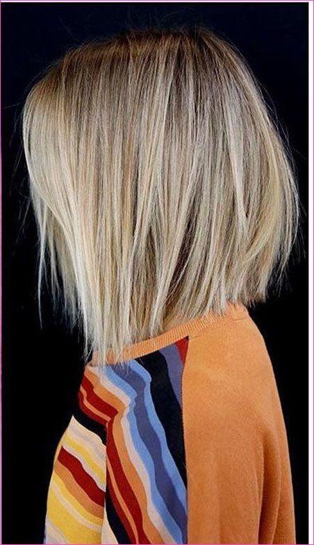 10 Einfache Gerade Bob Frisuren Mit Schonem Balayage Mit Bildern Glatte Haare Frisuren Glatte Haare Frisuren
