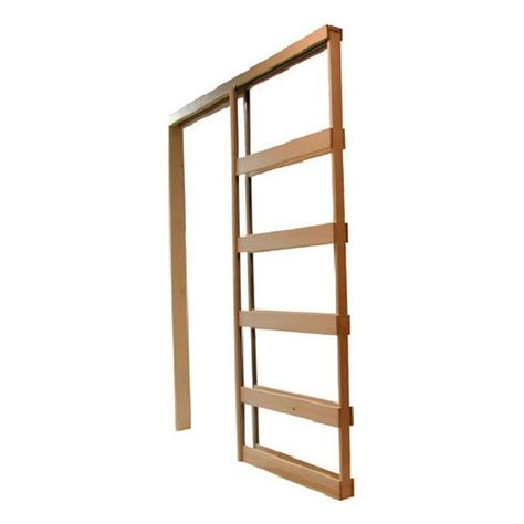 Reliabilt Pocket Door Frame With Hardware For Common Size 28 In X 80 In Door Slab Pocket Door Frame Pocket Doors Pocket Door Hardware