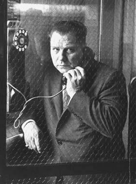 July 30, 1975, Teamsters boss Jimmy Hoffa mysteriously disappears in Detroit, MI.