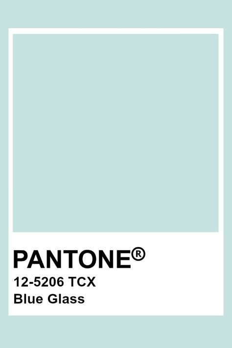 Pantone Blue Glass