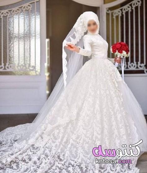 صور فساتين زفاف مصرية للمحجبات جنان2020 مجموعة متنوعة من فساتين الزفاف محجبات افخم فساتين الافراح Kntosa Com 14 19 156 Wedding Dresses Dresses Wedding