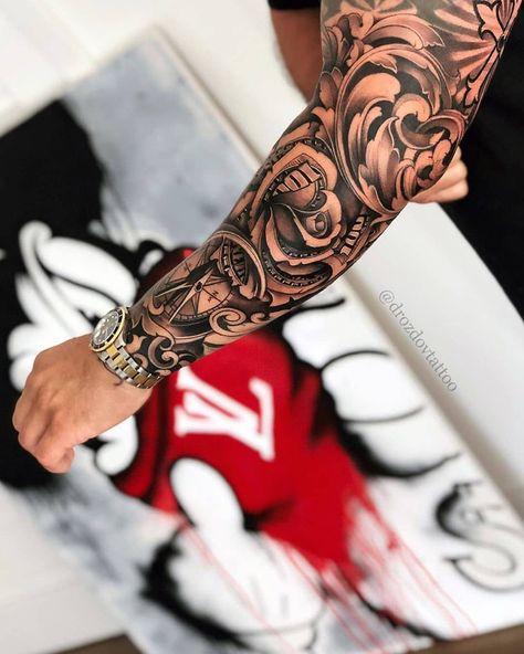make money tattoo Via Vladimir Drozdov .