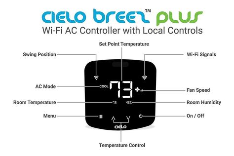 Cielo Breez Plus Smart Air Conditioner Controller