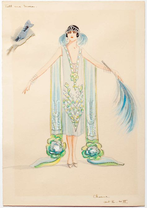 Charles LeMaire Costume Designs for the 1920s Gershwin Musical ...