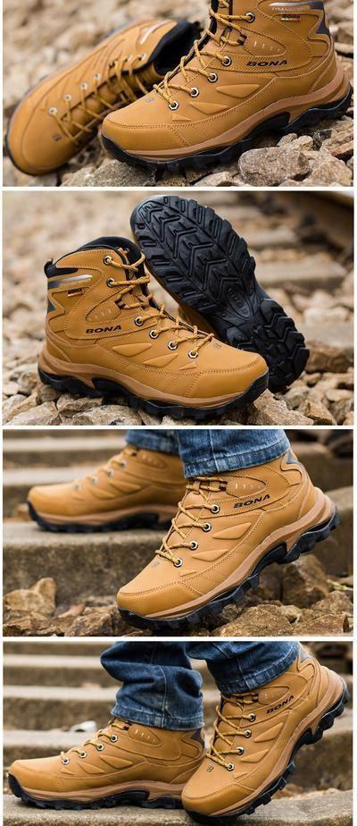 sorpresa male coerente  BONA New Hot Style Men Hiking Shoes Winter Outdoor Walking Jogging Sho -  sheheonline #summerhikingboots | Best hiking shoes, Best hiking boots,  Ankle boots men