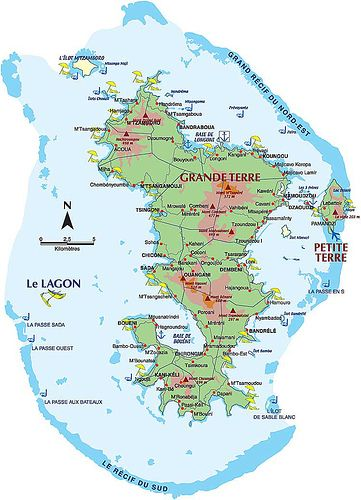 Mayotte An overseas departant of France consisting of main island