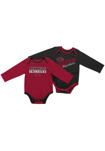 Arkansas Razorbacks Baby Cardinal Tango One Piece, Cardinal