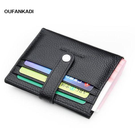 41e0b0e7f49 Oufankadi Caw Leather Men Wallets Coin Purse Mens Wallet Male Money Purses  Soft Card Soild Pattern Designer Wallet. Yesterday s price  US  15.90  (13.68 EUR) ...