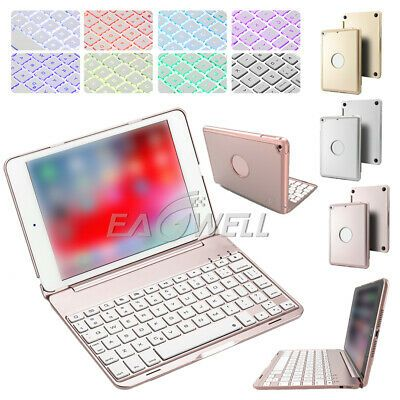 Details About For Ipad Mini 5 2019 5th Generation Aluminum Wireless Keyboard Smart Cover Case Ipad Mini Tablet Keyboard Apple Ipad Mini