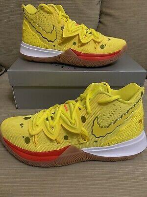 Nike Kyrie Irving 5 SpongeBob Yellow